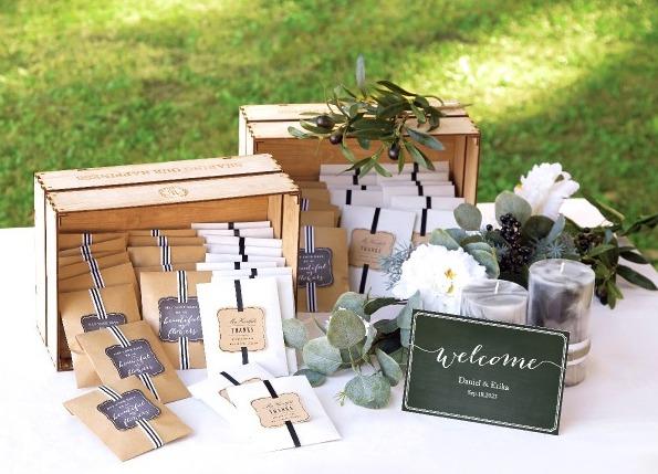 結婚式準備中にしたい、かわいいおもてなしのプチギフトを予算内でする方法!