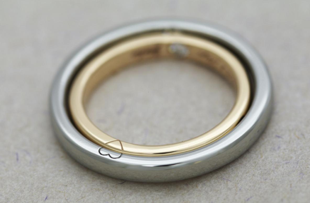 ハンドメイド結婚指輪