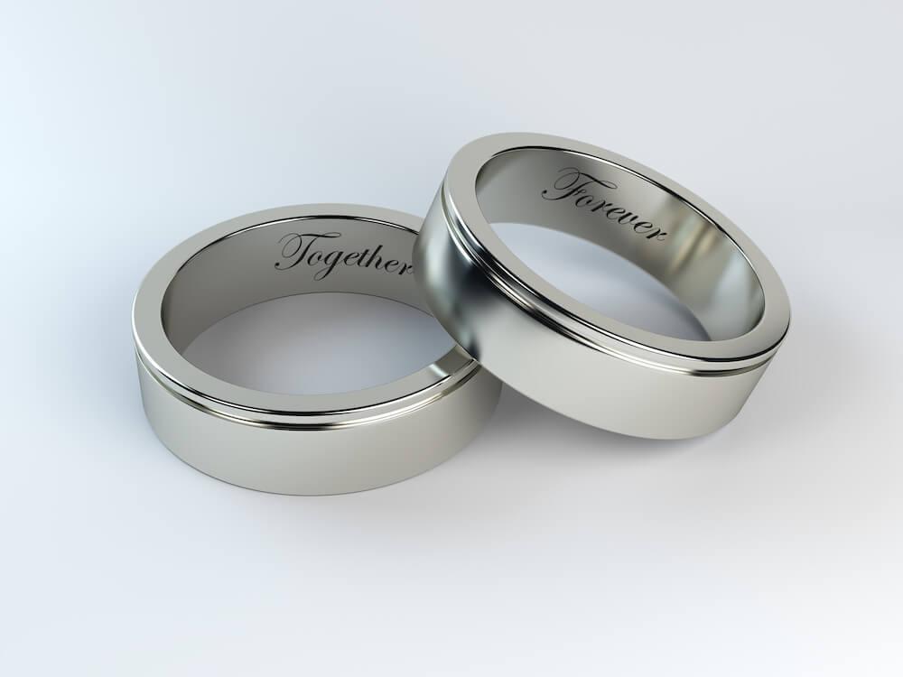 結婚指輪チタン