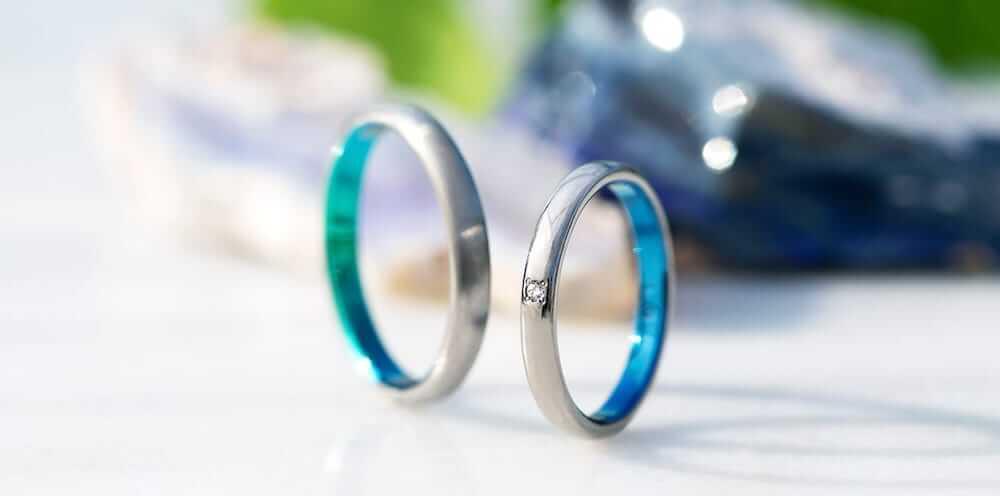 結婚指輪ジルコニア