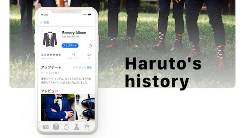 【App】プロフィールムービー
