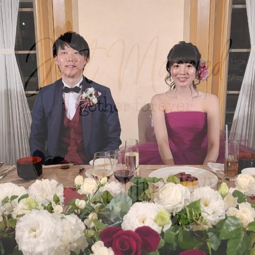 オープニングムービー制作 2020/12/20挙式 東京都